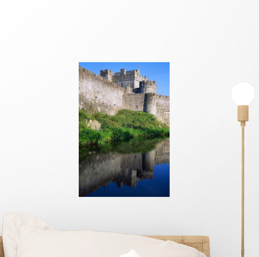 Cahir Castle, River Suir, County Tipperary, Ireland Wall Mural