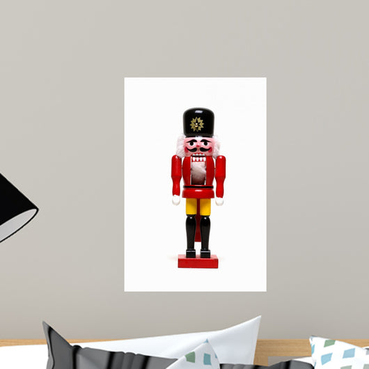 Christmas Wooden Nutcracker Wall Decal