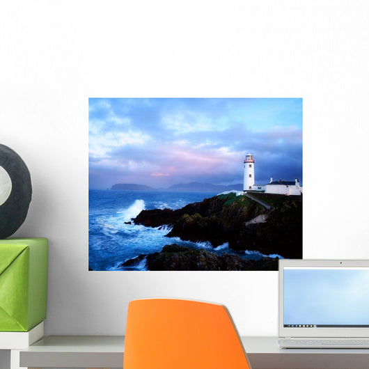 Lighthouse At Fanad Head, Co Donegal, Ireland Wall Mural