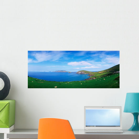Co Kerry, Dingle Peninsula, Slea Head & Blasket Islands Wall Mural
