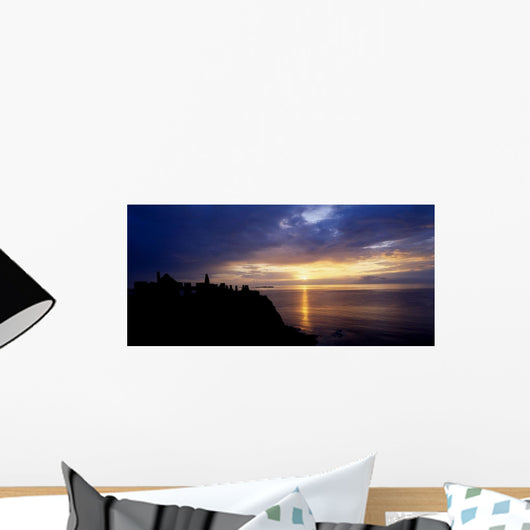 Dunluce Castle At Sunset, Co Antrim, Ireland Wall Mural