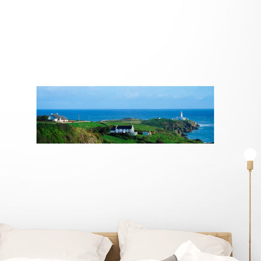 Fanad Lighthouse, Fanad, County Donegal Ireland Wall Mural