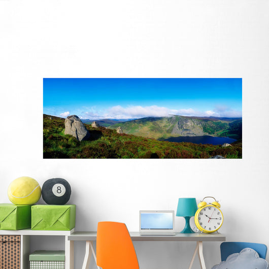 Luggala And Lough Tay, Co Wicklow, Ireland Wall Mural