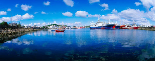 Killybegs Harbour, Co Donegal, Ireland Wall Mural