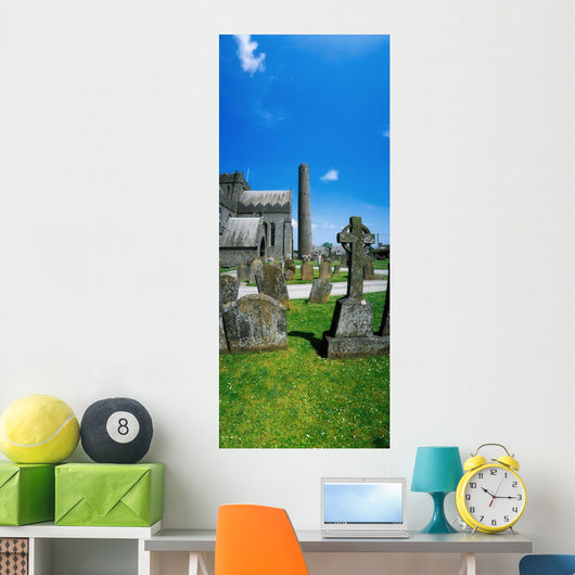 St Canice's Cathedral, Kilkenny City, County Kilkenny, Ireland Wall Mural