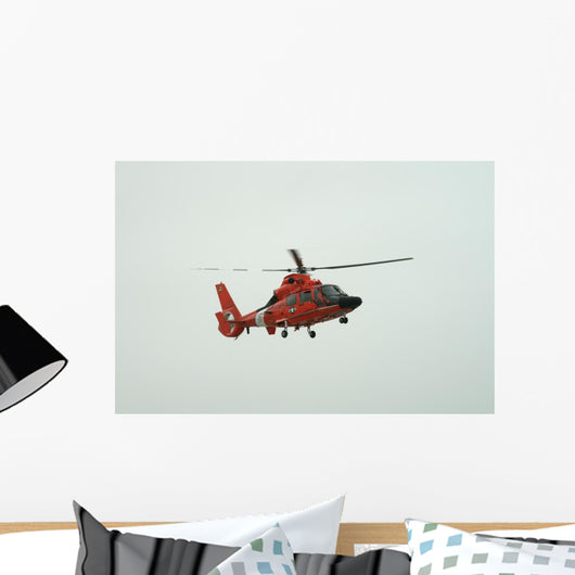 Rescue Helicopter Wall Mural
