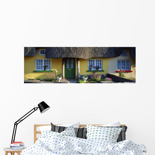 Thatched Cottage, Adare, Co Limerick, Ireland Wall Mural