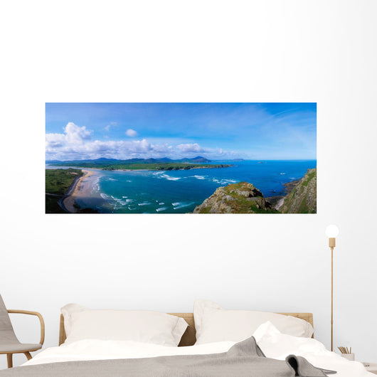 Beach On Inishowen Peninsula, Co Donegal, Ireland Wall Mural