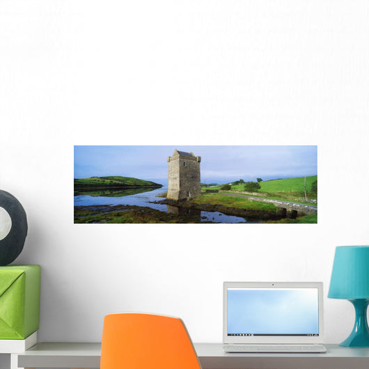 Rockfleet Castle, Clew Bay, Co Mayo, Ireland Wall Mural