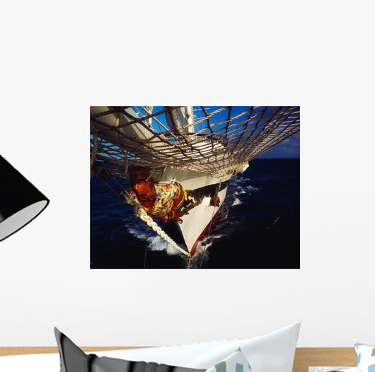 Sailing, Figurehead On The Prow Of A Yacht, Ireland Wall Mural
