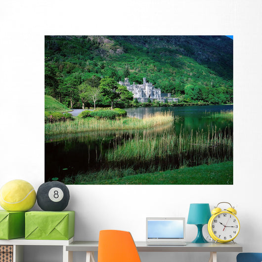 Kylemore Abbey, Co Galway, Ireland Wall Mural