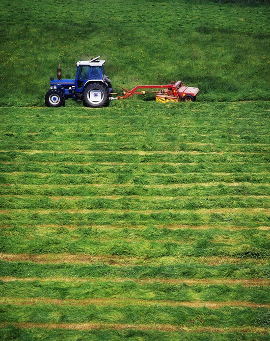 Silage Making, Ireland Wall Mural