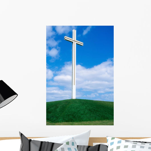 Cross Built For The Late Pope John Paul Ii Wall Mural
