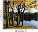 Lake And Trees, Mount Stewart, Co Down, Ireland Wall Mural