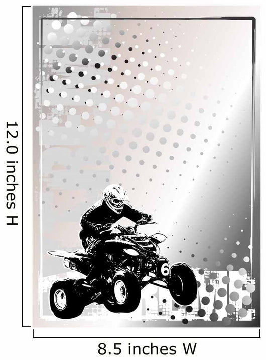 motorsport silver poster background Wall Mural