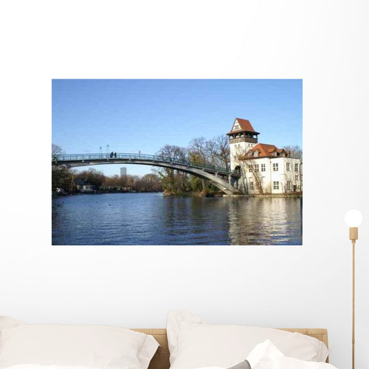 Bridge over Spree River Wall Mural