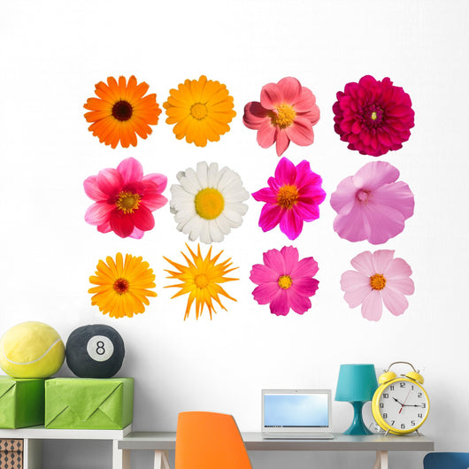 Flowers Decorative Collection Wall Mural