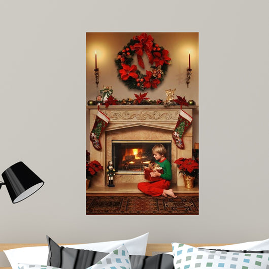 my christmas gift Wall Mural