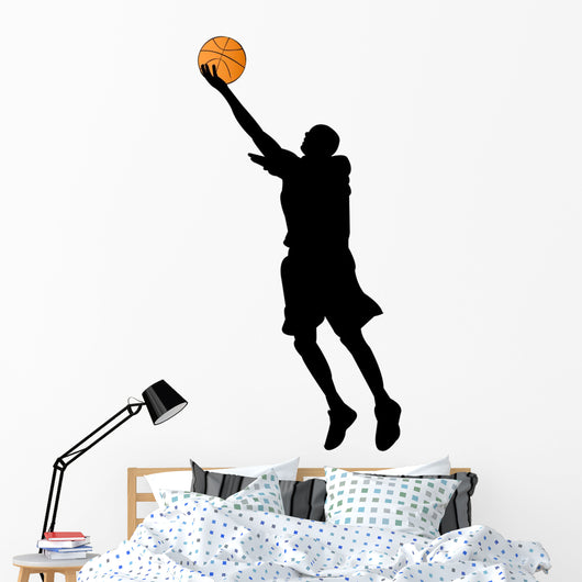 basketball player silhouette Wall Decal