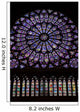 Stained Glass Window Wall Mural