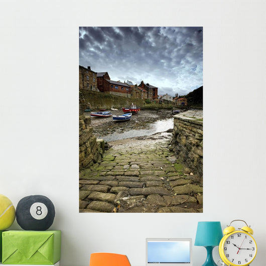 Staithes, North Yorkshire, England Wall Mural