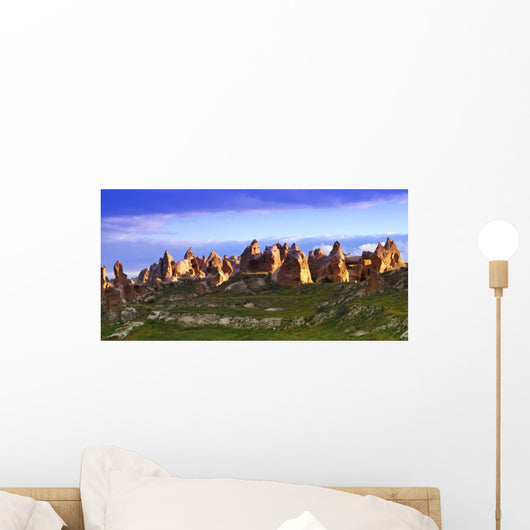 Fairy Chimney Rock Formations In Goreme National Park Wall Mural