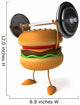 Strong Hamburger Wall Decal