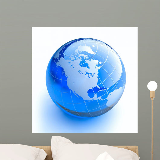 Glass Globe White