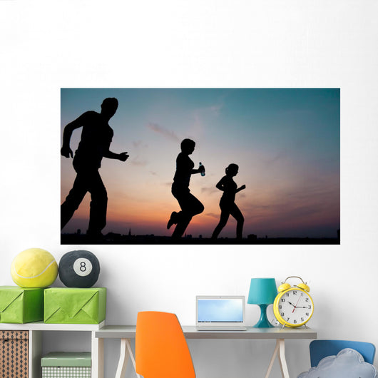 Silhouettes Wall Mural