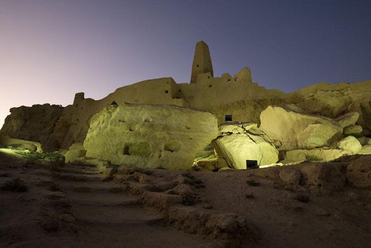The Temple Of The Oracle, Siwa Oasis, Egypt Wall Mural