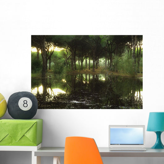 Tranquil Scenic Wall Mural