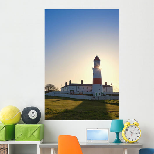 Lighthouse, South Shields, Tyne And Wear, England Wall Mural