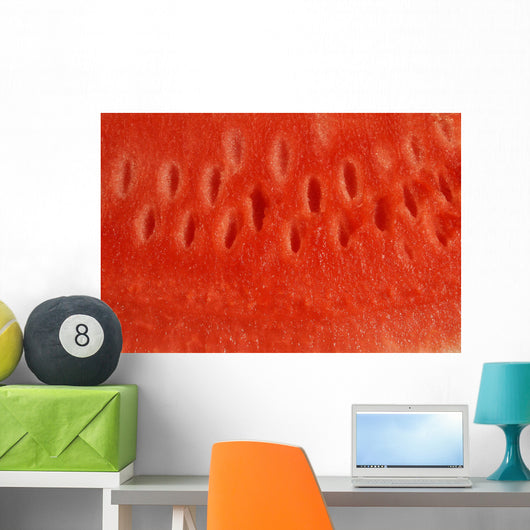 Close up of Watermelon Wall Mural