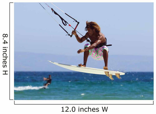 Man Kite Surfing Wall Mural