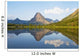 Two Medicine Lake, Glacier National Park, Montana Of America Wall Mural
