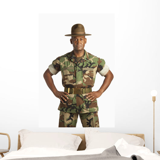 Military Man Wall Decal