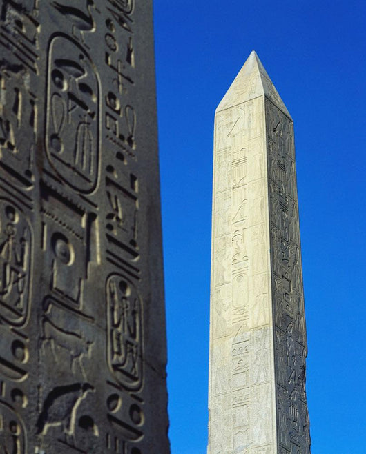 The Obelisk Of Hatshepsut With Detail Of The Obelisk Of Tuthmosis I Wall Mural