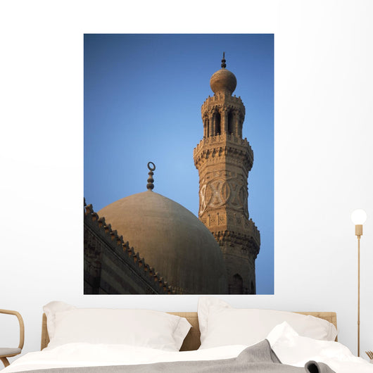 Dome And Minaret Of Mosque Of Barquq Wall Mural