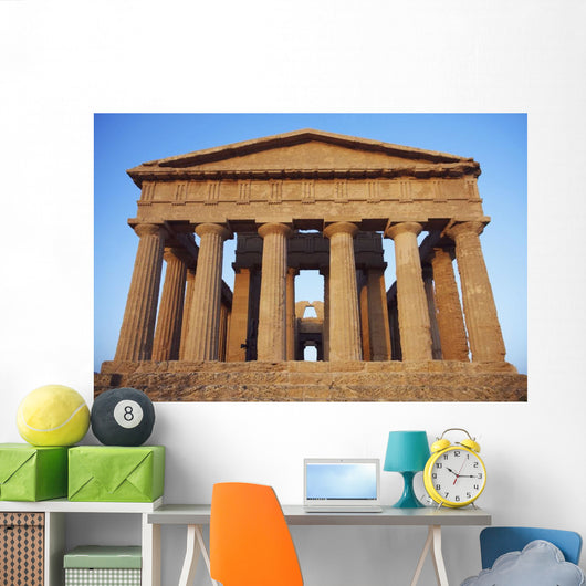 Greek Temple Wall Mural