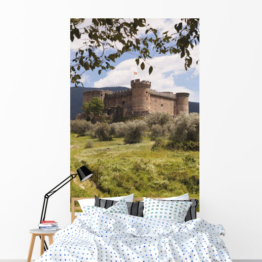 15Th Century Castle Of The Duke Of Alburquerque Wall Mural