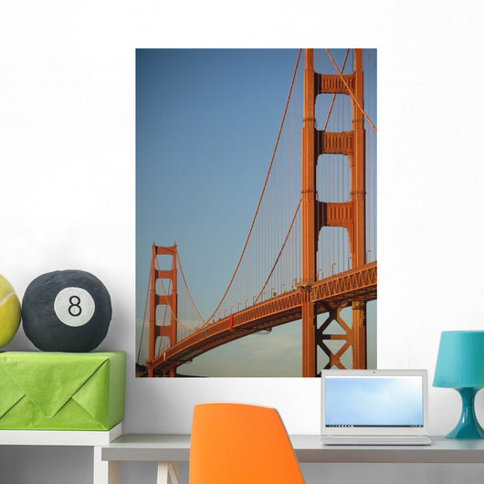 The Golden Gate Bridge At Dawn Wall Mural