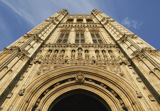 Victoria Tower At The Houses Of Parliament Wall Mural