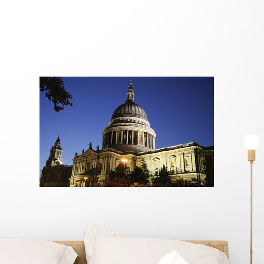 St Paul's Cathedral At Dusk, Exterior Wall Mural