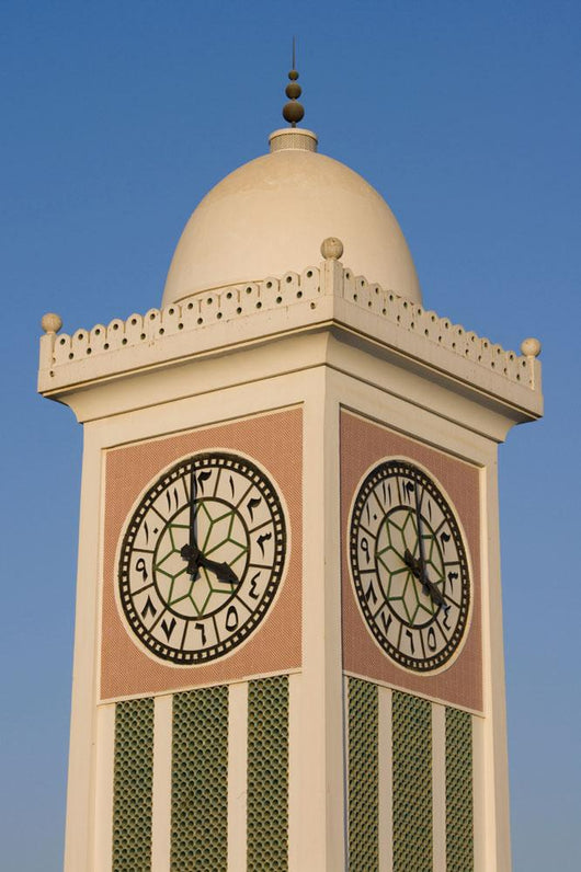 Doha Clocktower Wall Mural