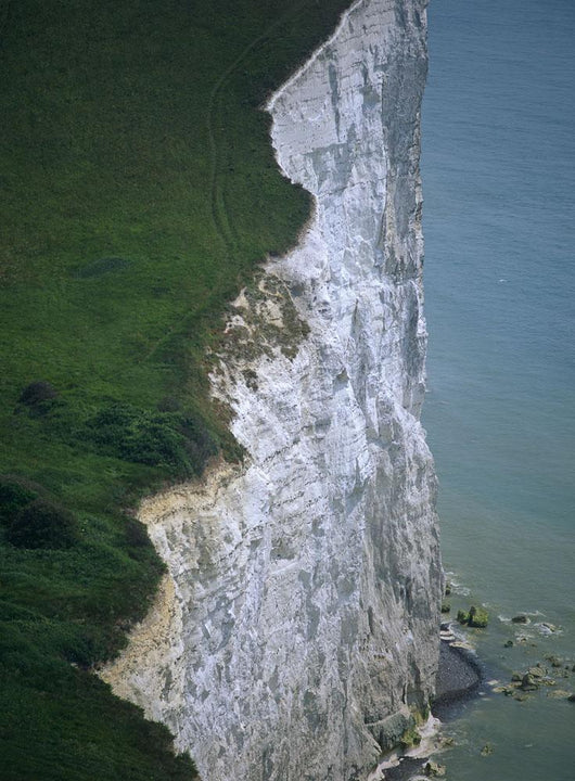 White Cliffs Of Dover, High Angle View Wall Mural