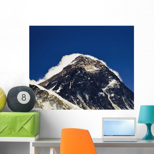 Mt Everest Seen From Kala Patthar Wall Mural