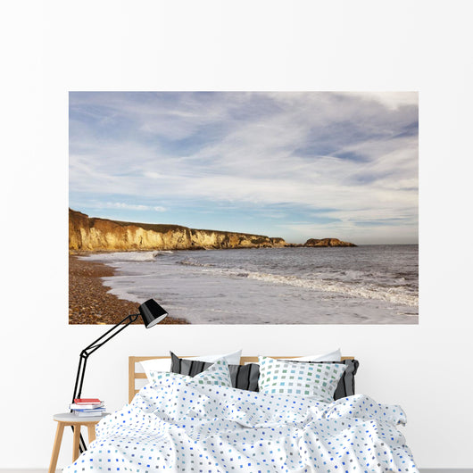 Tide Along The Coastline Wall Mural