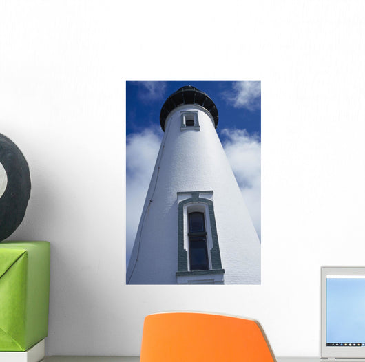 Low Angle View Of Lighthouse Wall Mural