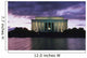 The Lincoln Memorial At West End Of National Mall At Dusk Wall Mural