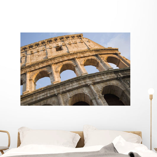 The Roman Coliseum In Rome Wall Mural